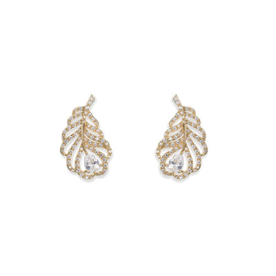 Parure Collier - Boucles d'oreilles<br>Long Island Or - MP Paris