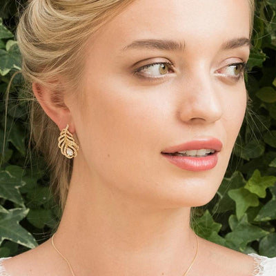 BOUCLES D'OREILLES<br>Long Island Or - MP Paris
