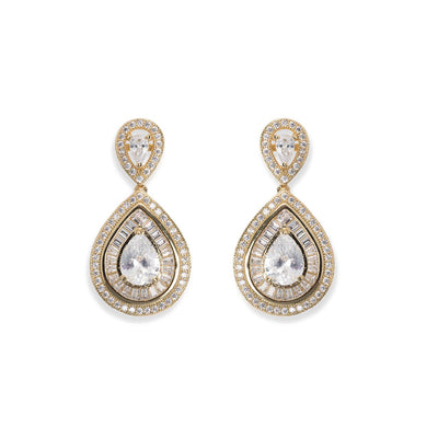 Parure Collier - Boucles d'oreilles<br>Montgomery Or - MP Paris