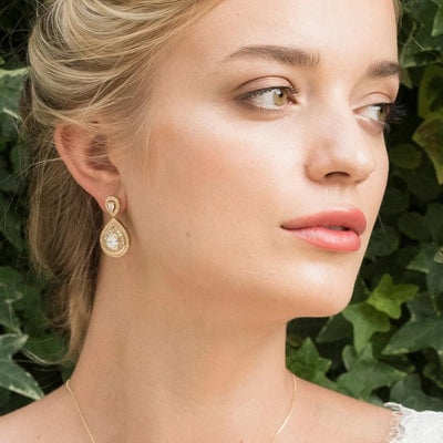 BOUCLES D'OREILLES<br>Montgomery Or - MP Paris