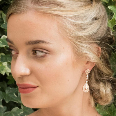 BOUCLES D'OREILLES<br>Moonstruck Rose - MP Paris
