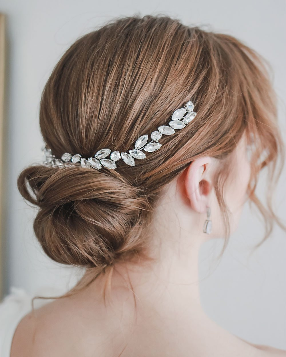 HEADBAND CHEVEUX MARIAGE<BR>Nora