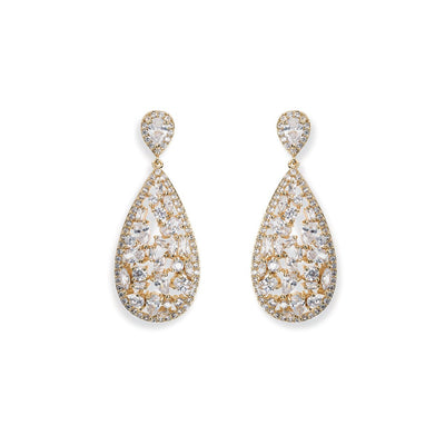 Parure Collier - Boucles d'oreilles<br>Pasadena Or - MP Paris
