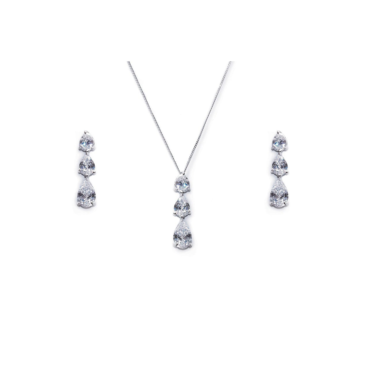 Parure Collier - Boucles d'oreilles<br>Purity - MP Paris