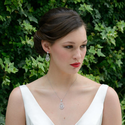 Parure Collier - Boucles d'oreilles<br>Sorrento - MP Paris
