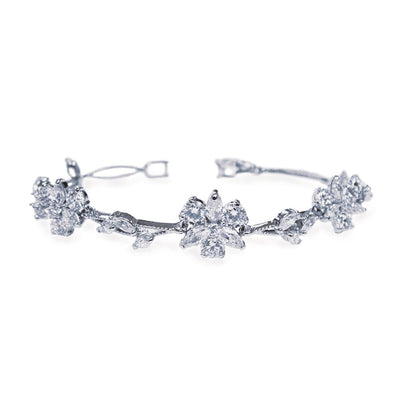 Parure Collier - Boucles d'oreilles - Bracelet<br>Waterlily - MP Paris