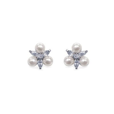 BOUCLES D'OREILLES<br>Waterlily Pearl - MP Paris