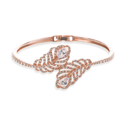 BRACELET MARIAGE CHAMPETRE<BR>Long Island Or rose - MP Paris