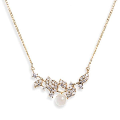 COLLIER MARIEE PERLE<BR>Aphrodite Or - MP Paris