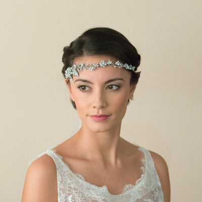 HEADBAND POUR MARIEE<BR>Gizelle - MP Paris