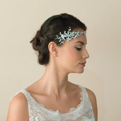 HEADBAND POUR MARIEE<BR>Astra - MP Paris