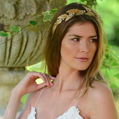 HEADBAND BOHEME<BR>Grecian Dream - MP Paris