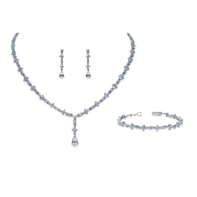 Parure Collier - Boucles d'oreilles - Bracelet<br>Kensington - MP Paris
