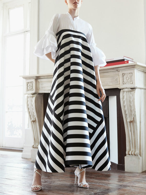 Daily Elegant Gathered Maxi Dress