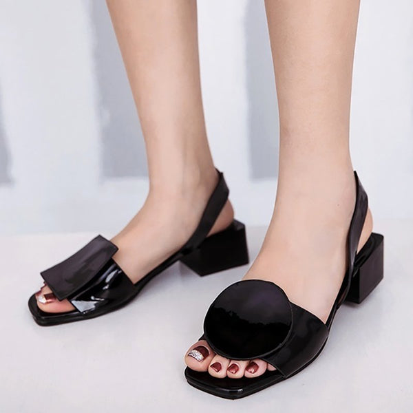 Slip On Ladies Wedding Open Toe Sandals