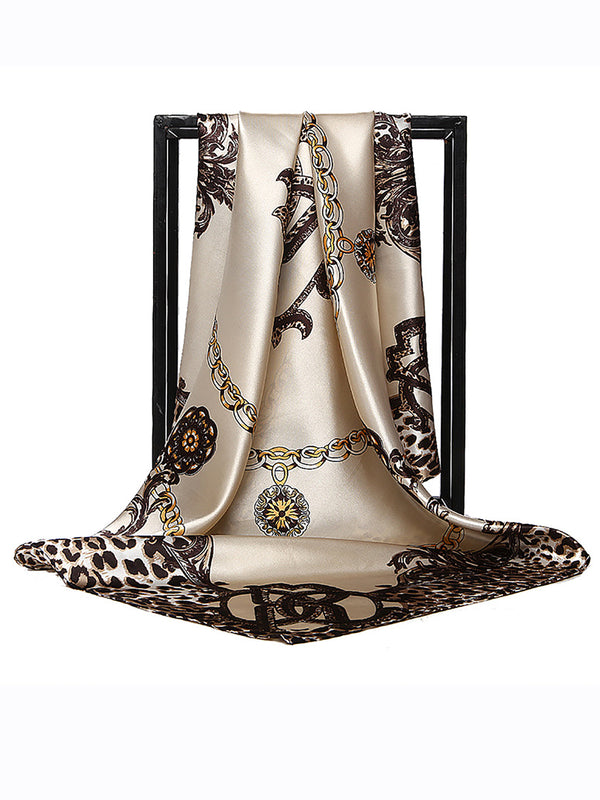 Leopard Printed Holiday Daily Casual Women Scarf