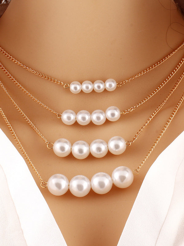 Imitation Pearls Necklace