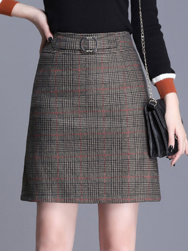 Shift Work Midi Skirt