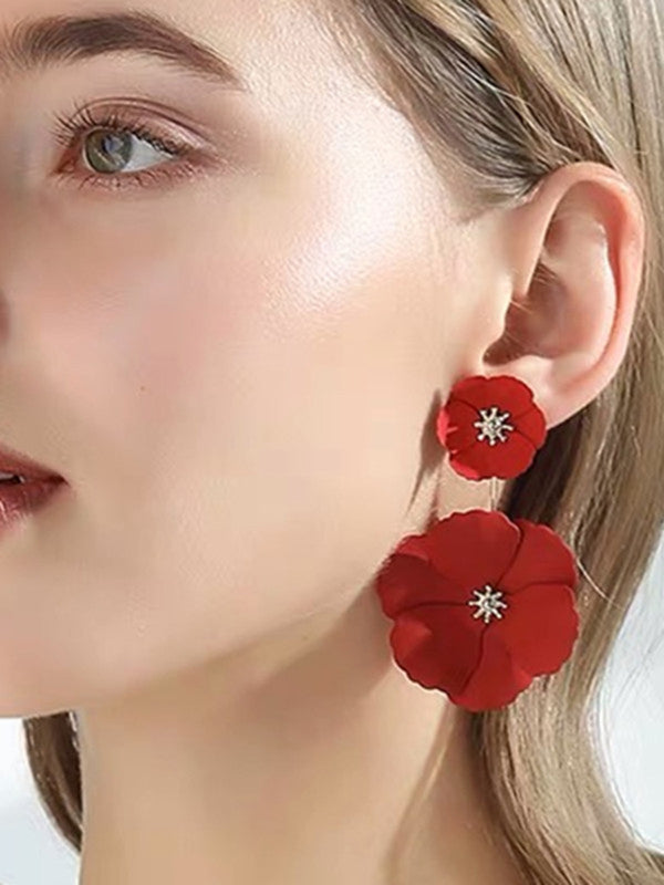 Casual Floral Earrings