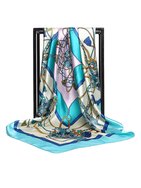Casual Daily Printed Abstract Scarf