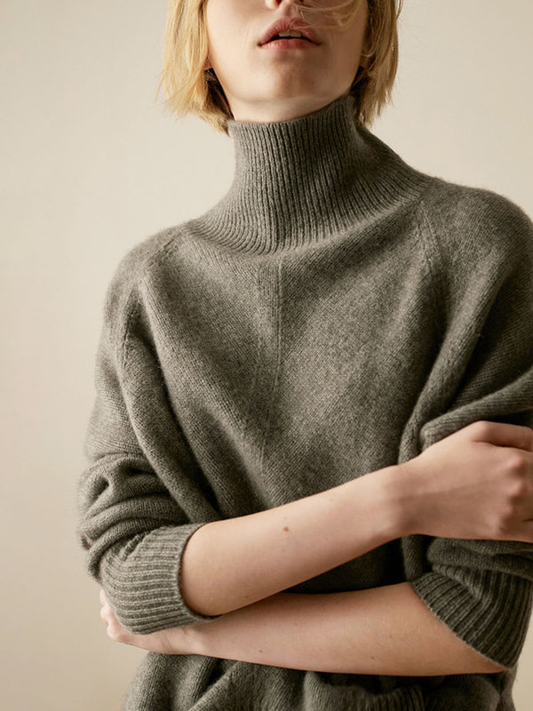 Casual Knitted Long Sleeve Sweater