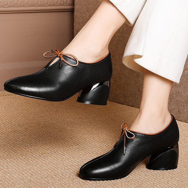 Elegant Block Heel Pumps