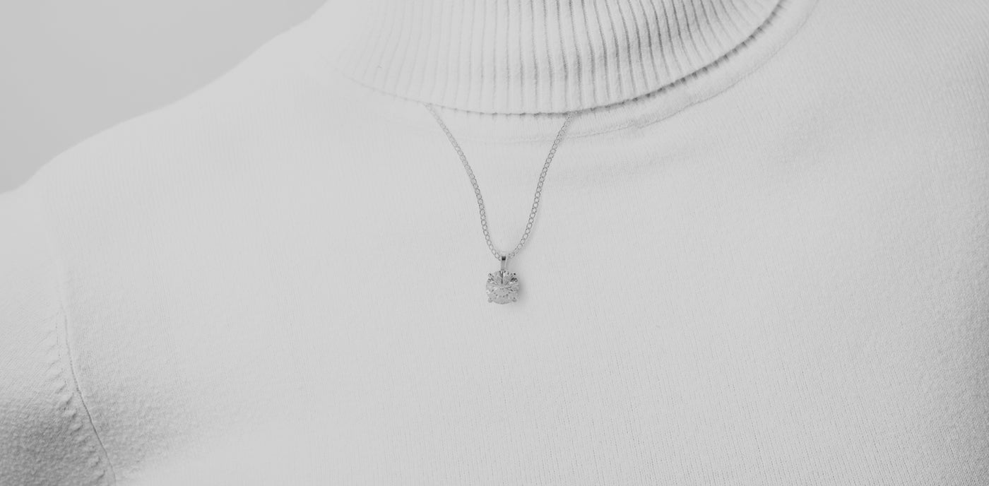 Lab Grown Diamond Necklaces