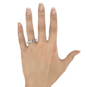 3/4 or 1 1/4 CT. TW Lab-Grown Diamond 7-Stone Ring