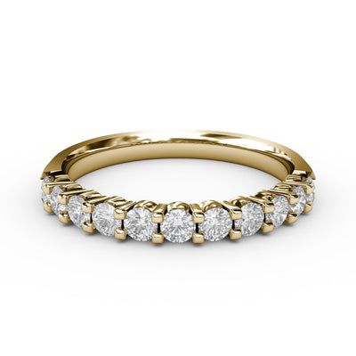 ½ CT TW 14k <strong>Yellow Gold</strong> Lab-Grown Diamond 11 Stone Ring