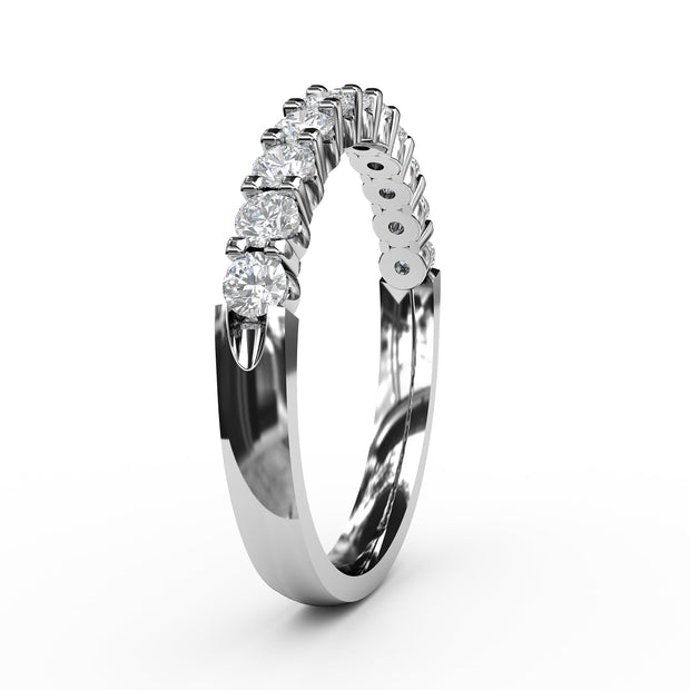 1/2 - 1 1/2 CT. TW Lab-Grown Diamond 11 Stone Ring
