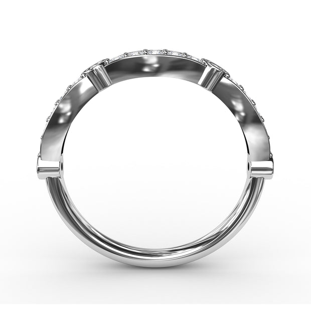 1/2 CT. TW Lab-Grown Diamond Stackable Ring