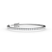 2 CT. TW Lab-Grown Diamond Tennis Bracelet