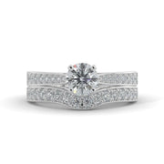 1 1/4 CT. TW 14k Gold Lab-Grown Diamond Bridal Set