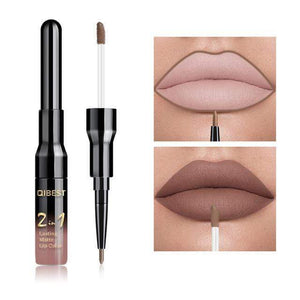 Lipstick And Lip Liner Set - Krafti Pop Cosmetics