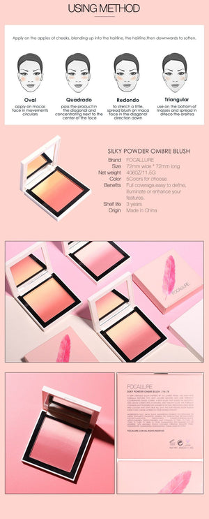 Face Blush Palette - Krafti Pop Cosmetics