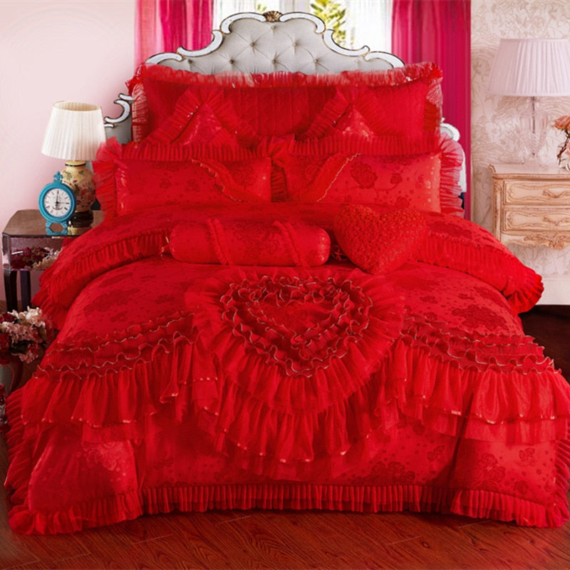 Wedding Bedding Set - Krafti Pop Cosmetics