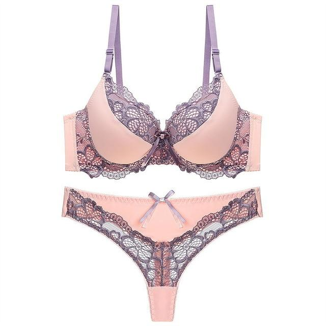 Womens Bra and Underwear Set - Krafti Pop Cosmetics