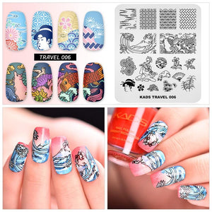 Nail Art Decorations Stamp - Krafti Pop Cosmetics