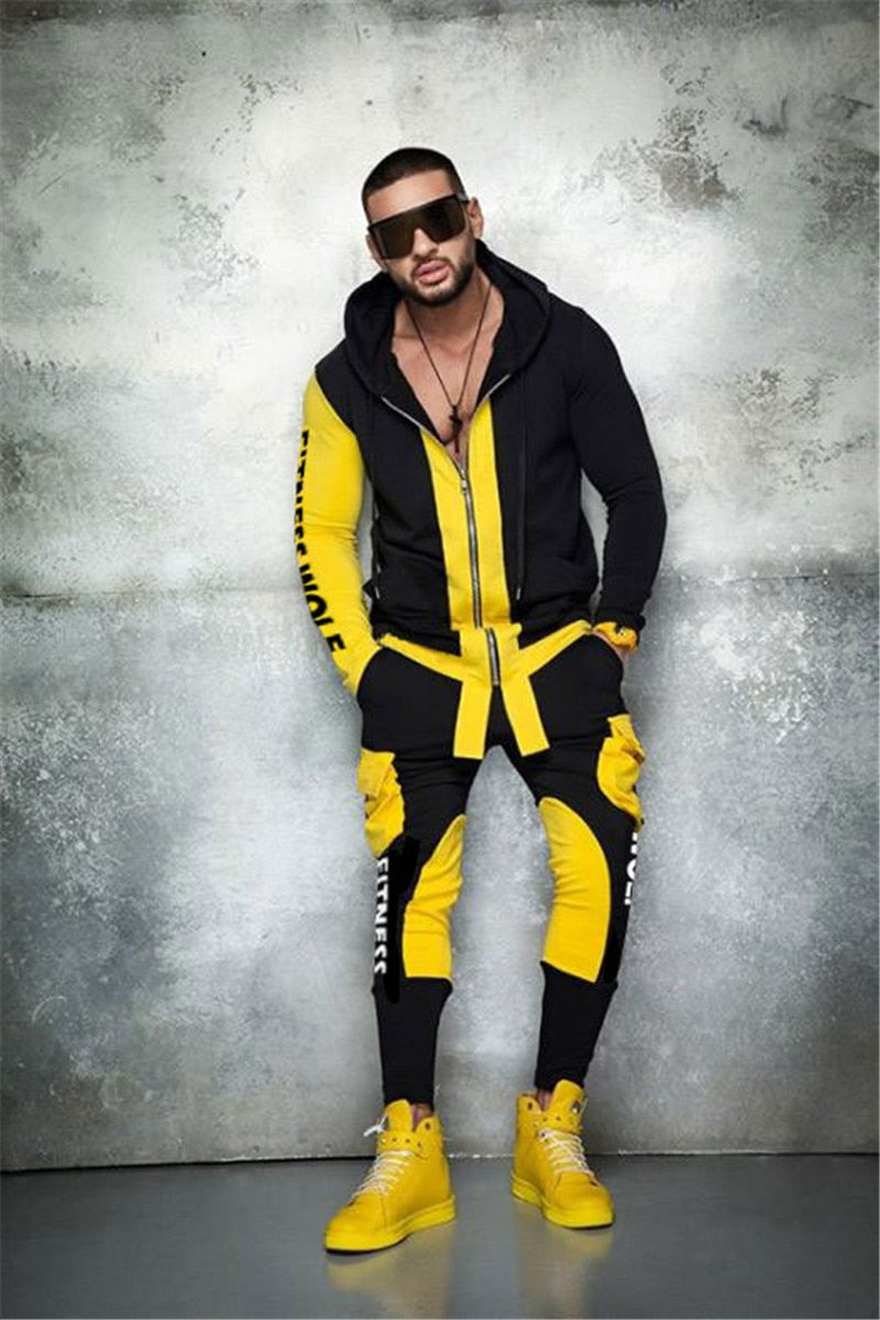 Men Tracksuit - Krafti Pop Cosmetics