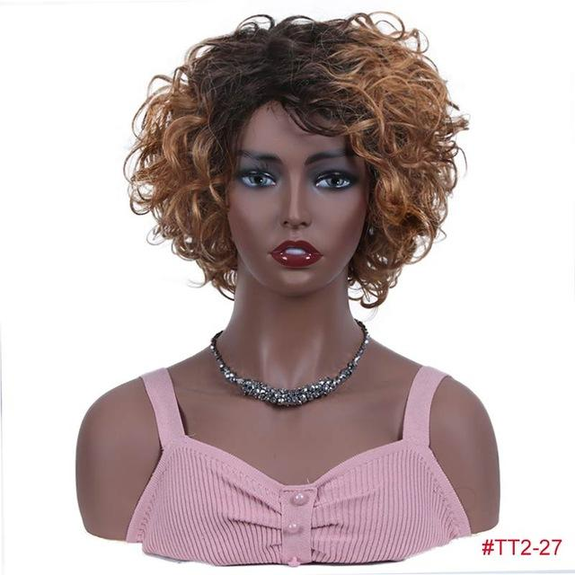 Short Wet And Wavy Wigs - Krafti Pop Cosmetics