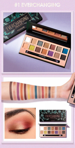 Matte Eye Shadow Palette - Krafti Pop Cosmetics