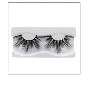 Thick Mink Eyelashes - Krafti Pop Cosmetics