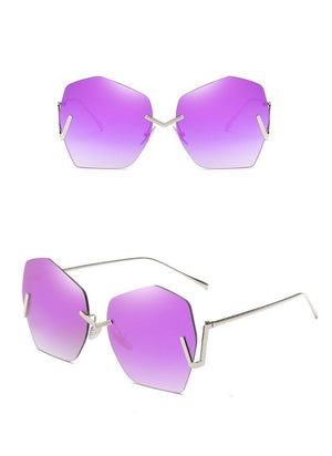 Rimless Sunglasses For Women - Krafti Pop Cosmetics