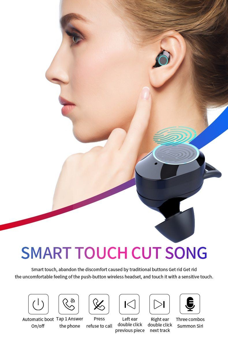 Wireless Bluetooth Earbuds - Krafti Pop Cosmetics