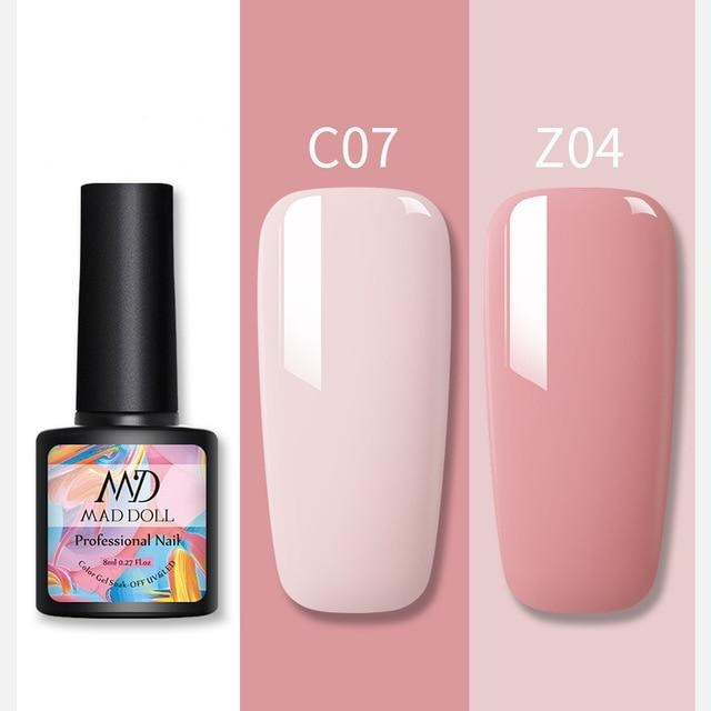 UV Gel Nail Polish - Krafti Pop