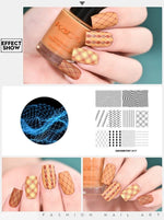 Nail Art Stamping Design - Krafti Pop