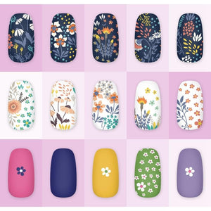 Nail Art Stamp Templates - Krafti Pop