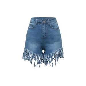 Casual Jeans Shorts Outfit - Krafti Pop Cosmetics
