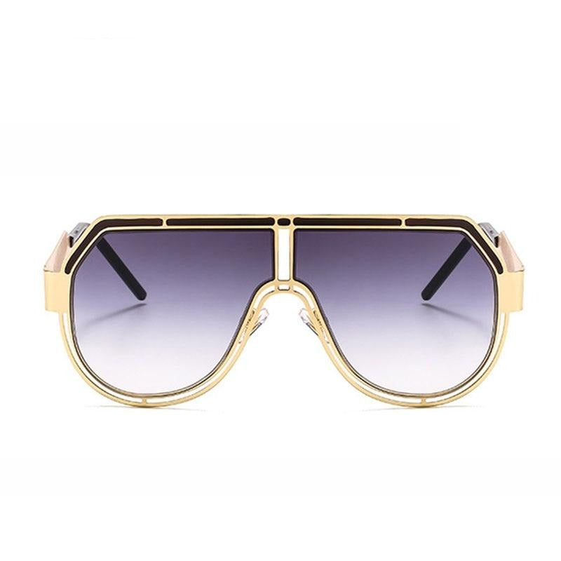 Oversized Round Sunglasses - Krafti Pop Cosmetics