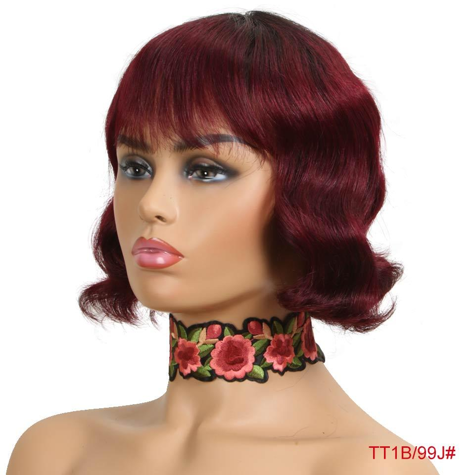 Mixed Color Bob Wigs - Krafti Pop Cosmetics